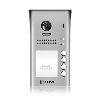 CDVI 2Easy 2 wire CDV97-4ID 4 button Door station with Prox